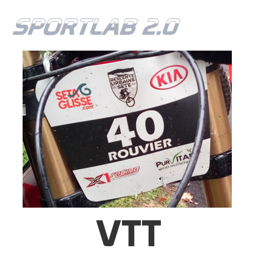 Plaque de cadre VTT