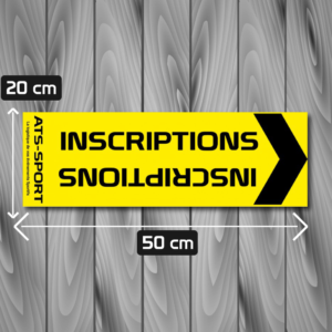 signalétique xxl inscriptions