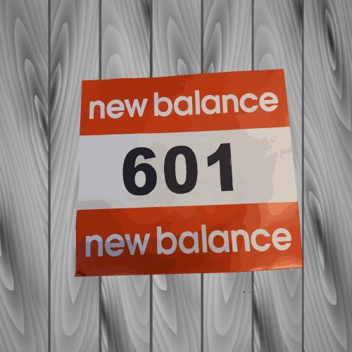 dossard newbalance